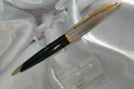 Waterman Carene Deluxe Black Gt Ball Pen - $159.39