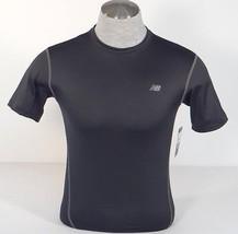 New Balance Lightning Dry Black Compression Athletic Shirt Men's NWT - $22.49