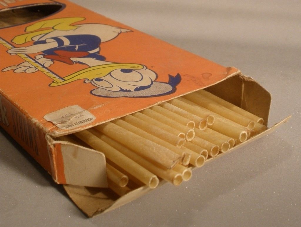 Donald Duck Sunshine Straws