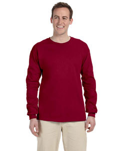 Dark Heather 3XL Long sleeve Gildan ultra cotton T-shirt  G240 G2400  240