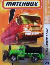 Matchbox MBX 2009 Highway Maintenance #74 Plow Master 6000 - $5.88