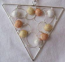 Triangle Italian pendant - $80.00