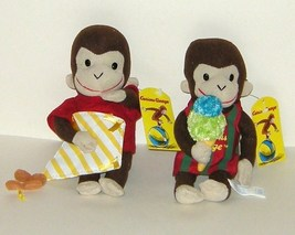 1/2 Price! TWO Curious George Monkey Ice Cream and Flies Kite NWTs Toy N... - $7.00