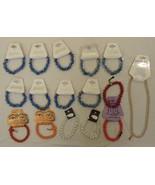 Gareebee Earth Beads Stretchy Bracelets Qty 16 ... - $38.64