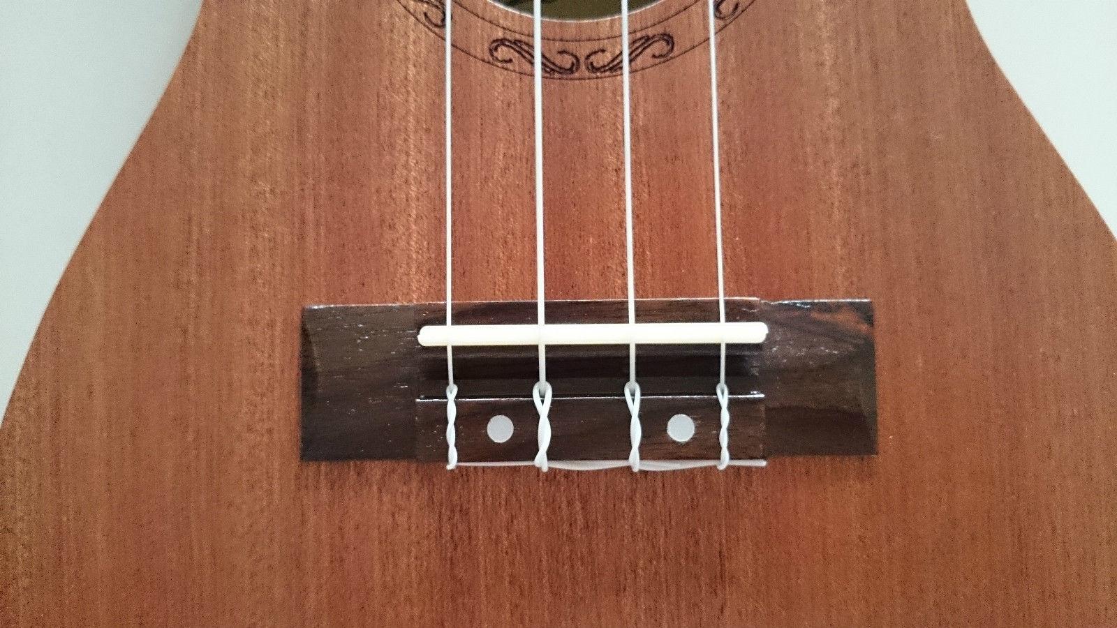 "Student Professional 21"" Acoustic Soprano Hawaii Ukelele Guitar Rosewood"