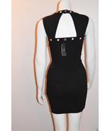 NEW ARMANI EXCHANGE Pencil Dress Black Embellis... - $53.10