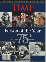 Time Person of The Year 75th Anniversary Celebration 1927-2001;Cover Sto... - $19.99