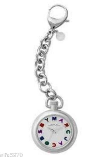 MARC BY MARC JACOBS UNISEX POCKET WATCH WITH CHAIN - NWT/ BOX