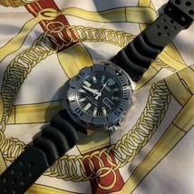Rare Seiko Diver's Watch Wristwatch Black Monster Used item - $415.89