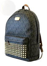 Michael Kors Studded Jet Set Large Backpack Pvc New Free Shipping - $566.27