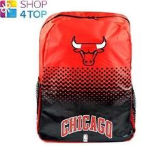 CHICAGO BULLS BASKETBALL CLUB BACKPACK TRAVEL BAG TEAM OFFICIAL NEW - $25.24