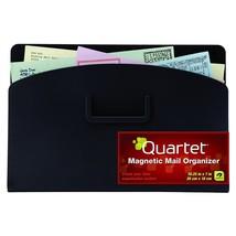 Quartet Magnetic Mail Organizer Storage Pouch, 10 x 7 Inches, Black (481... - $30.00