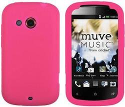 HTC DESIRE C PINK SILICONE CASE - $7.99