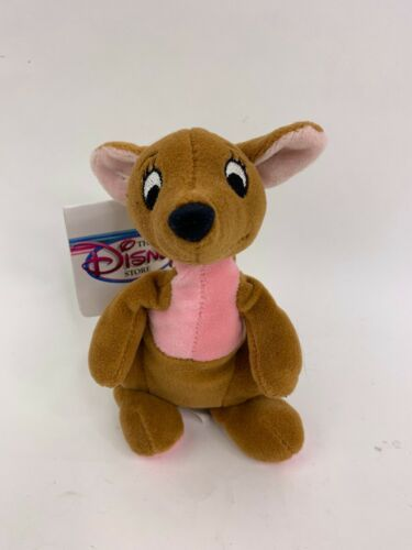 Primary image for The Disney Store Bean Bag Plush Kanga Winnie the Pooh 7 inch with Tag