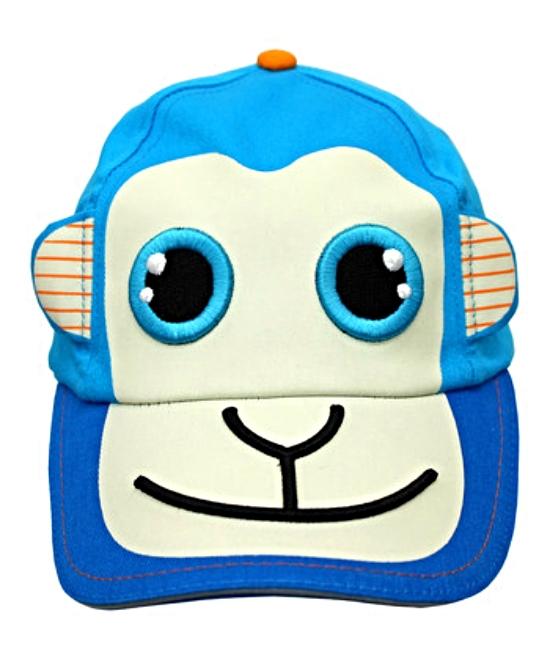 Boys Monkey Around Baseball Hat Cap Kid Friendly Sunhat MSRP $30.00 YOU SAVE $10
