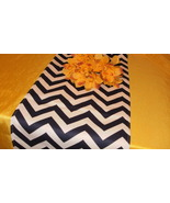 CHOOSE COLORS Table Runner Zigzag chevron decor wedding bridal red pink ... - $19.00