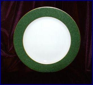 Bernardaud phoebe granite emeraude platter a