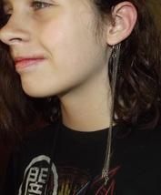 Spiked Ear Cuff - Silver Tone - $15.99