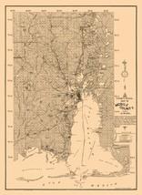 Mobile County Alabama - Fonde 1895 - 23.00 x 31.57 - $36.58+