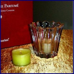 Baccarat mille nuits scented votive