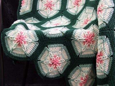Crochet Pattern Leaflet AMAZING STAR AFGHANS Very Unique! image 3