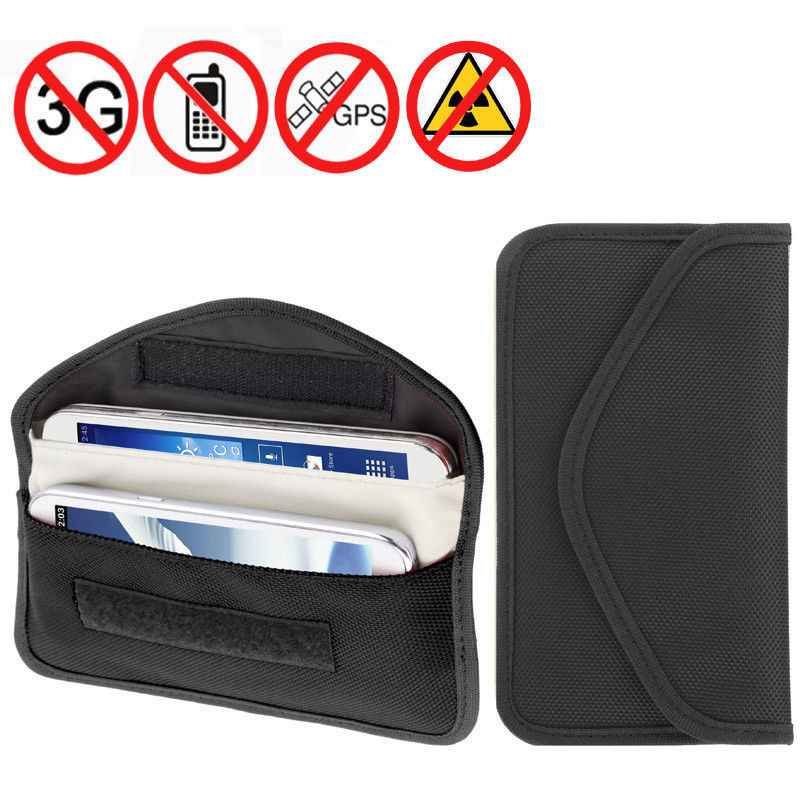 Mobile - Cell Phone - Credit Card Anti Spy Blocker. Stops GPS RFID RF Tracking