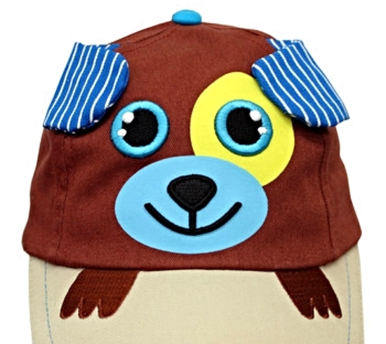 Boys Baseball Hats Brown Puppy Caps Sunhat Birthday Gifts MSRP $30.00 SAVE $10