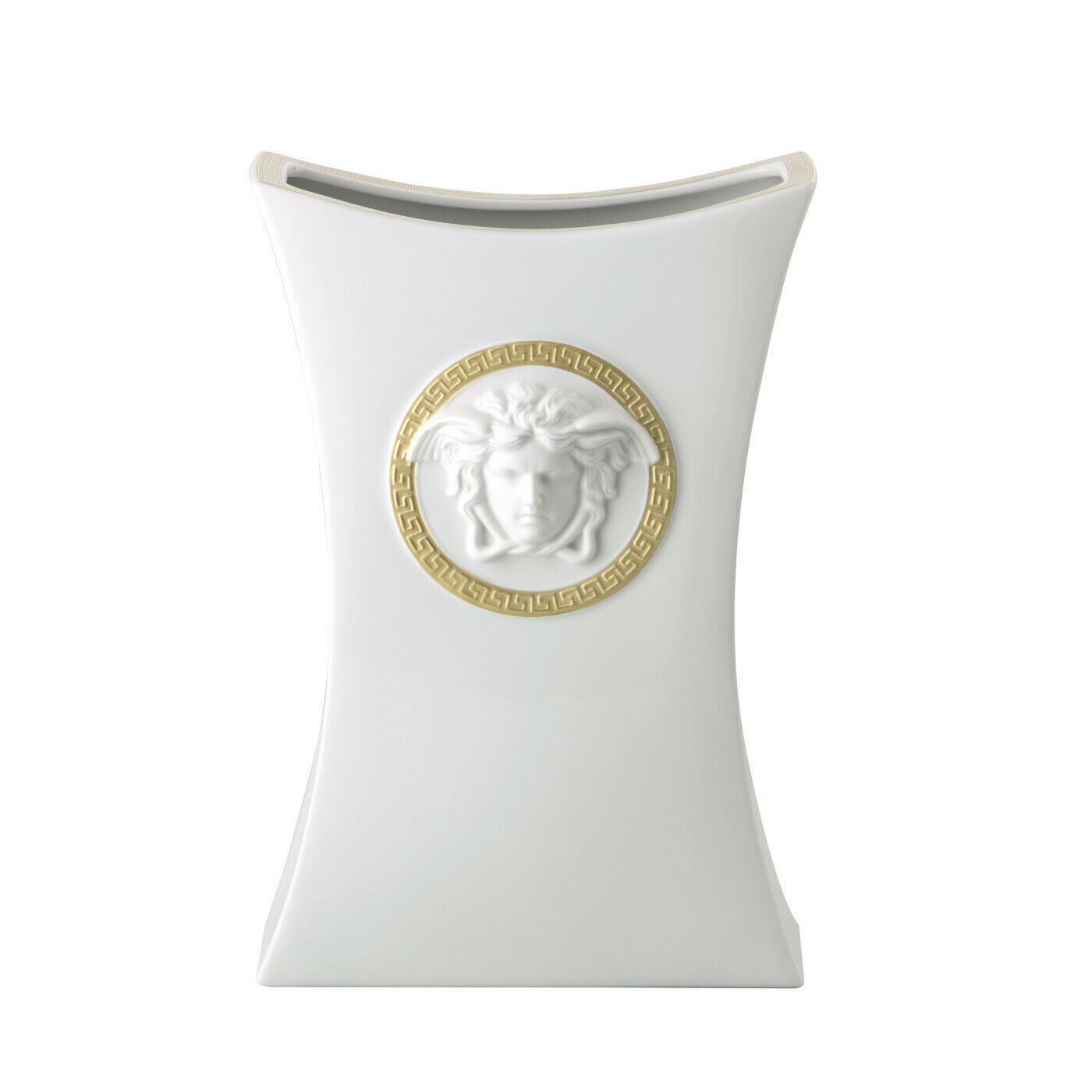 "Primary image for Versace by Rosenthal Decoration series Gorgona Vase 30 cm/11.8"" inches"