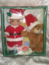 "2000 Precious Moments Doll & Bear ""Wishing You A Bear-ie Christmas"" - $18.99"