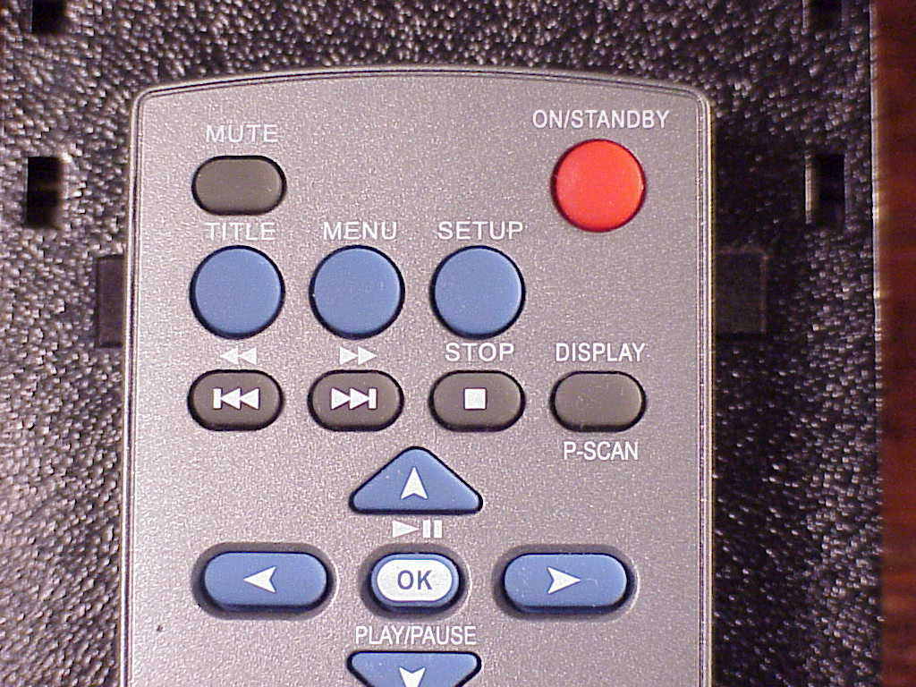 Audiovox DVD Remote Control, no. RC-1002FV, cleaned and tested