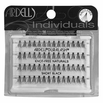 2 PACK Ardell Individuals Knot Free Lashes Naturals Short Black  - $8.84