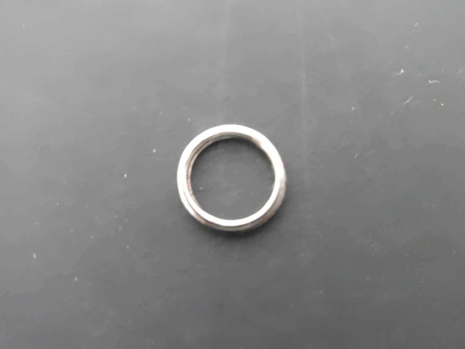 """50 Qty: 3/8""""  NICKEL Plated Cord Guide Rings (Sew-On) for ROMAN shades/ build or"""