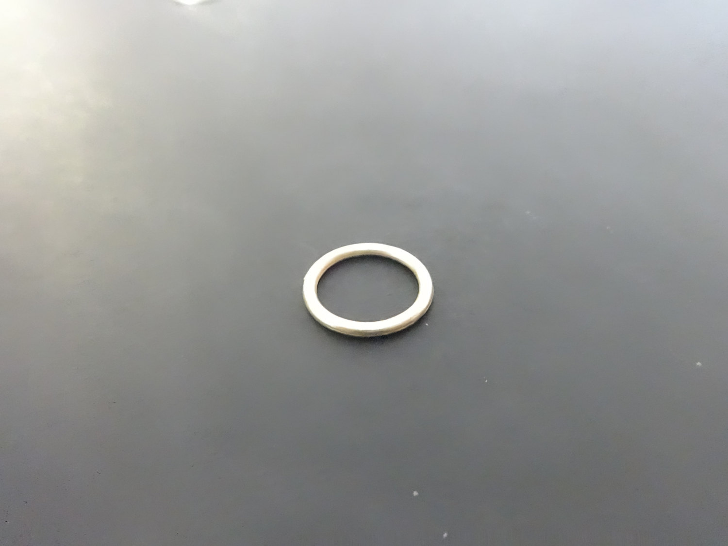 """50 Qty: 3/8""""  BRASS Plated Cord Guide Rings (Sew-On) for ROMAN shades/ build or"""