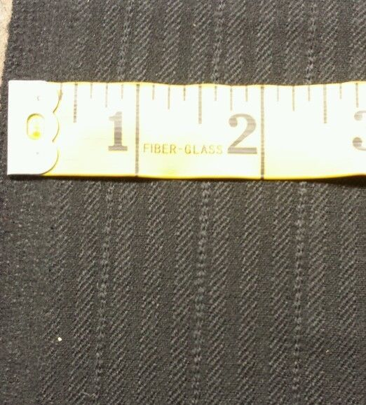 7.7 Yards Super130'S Italian Fine Wool Worsted Suiting Fabric Msrp $975