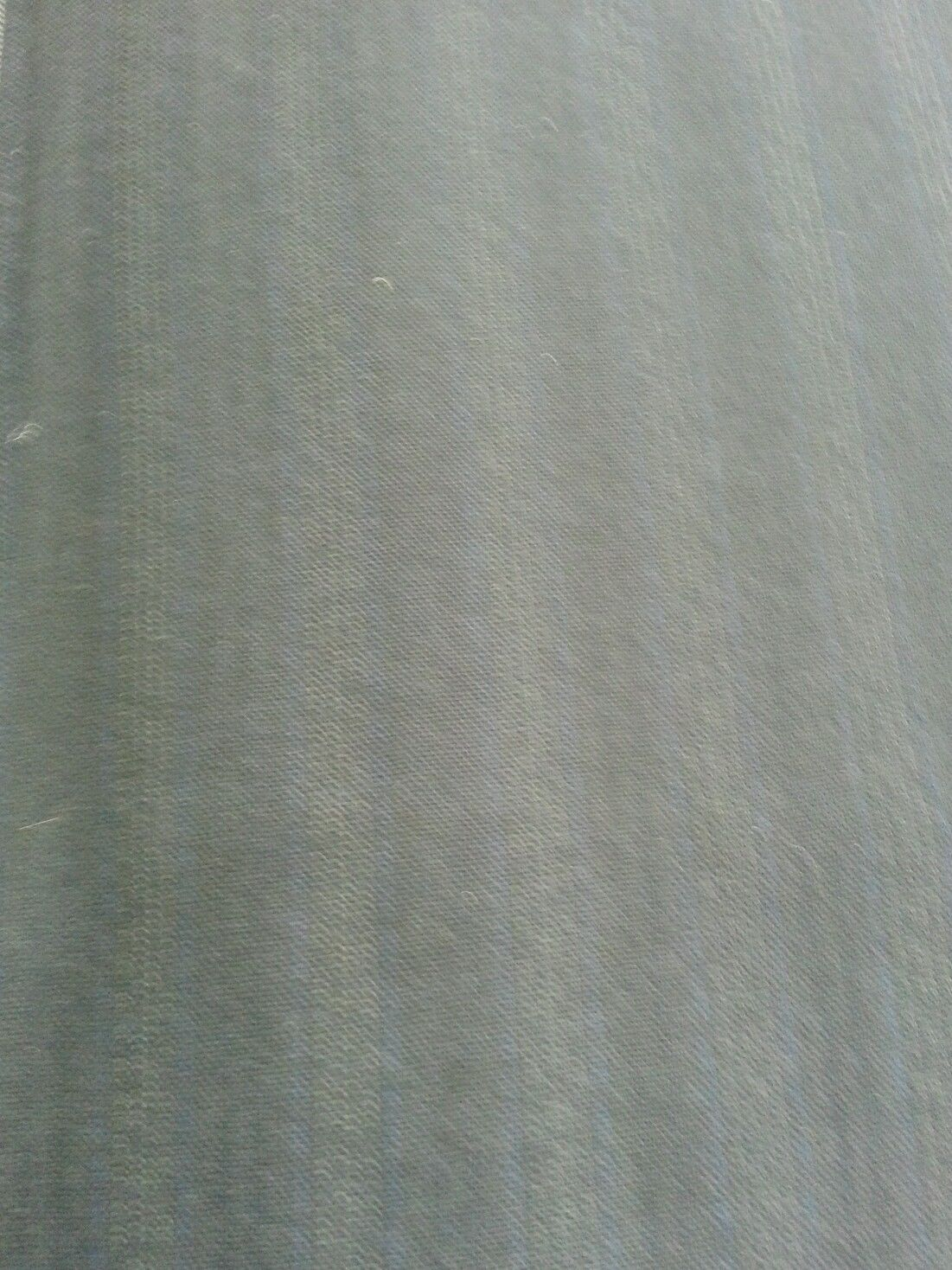 4 Yard Super 100's Wool BEAUTIFUL NAVY  STRIPE Worsted Suit Fabric  MSRP $525