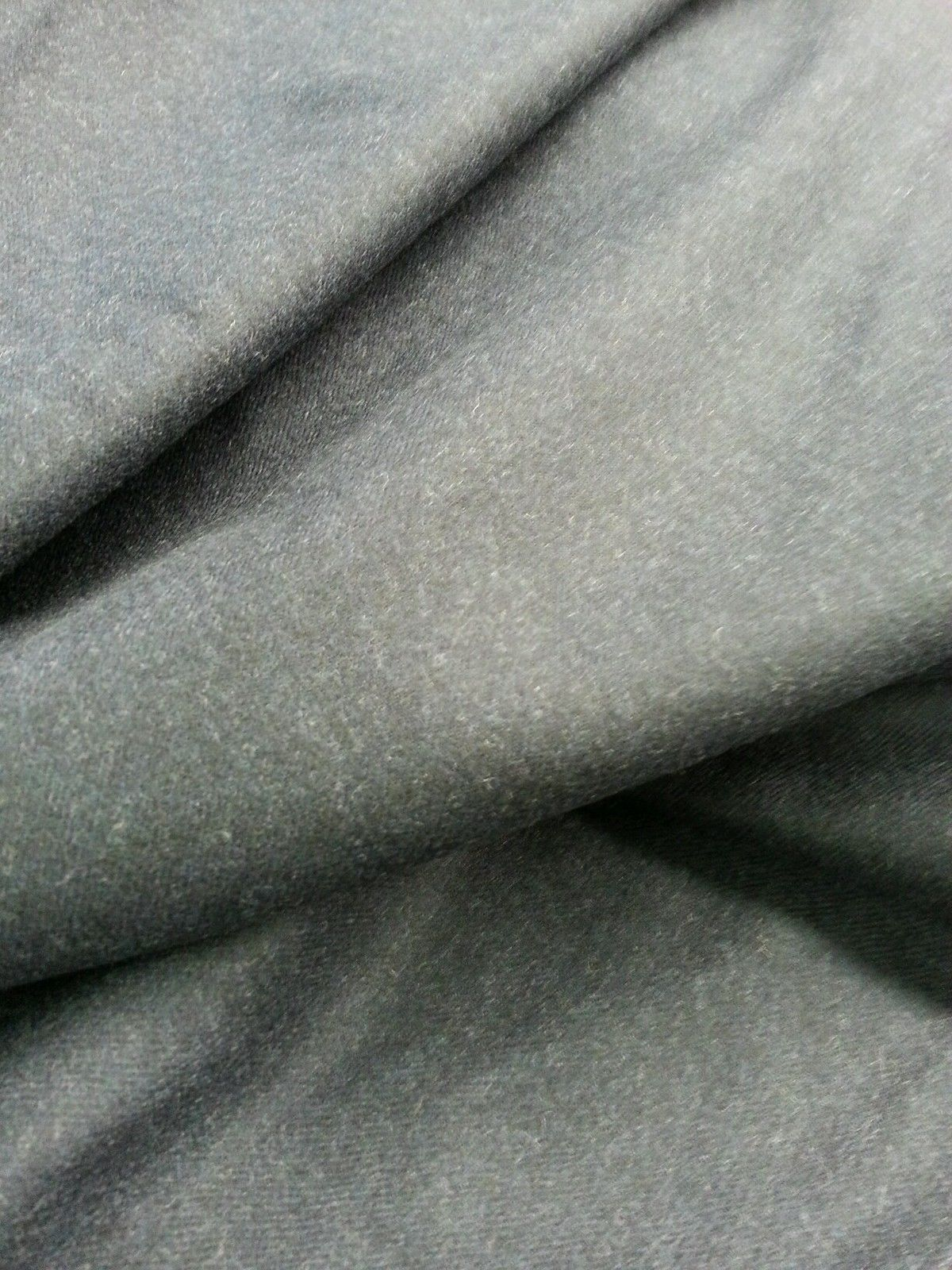 7 Yards Super 120'S Wool full Weight Blue grey fine classic Suiting Fabric