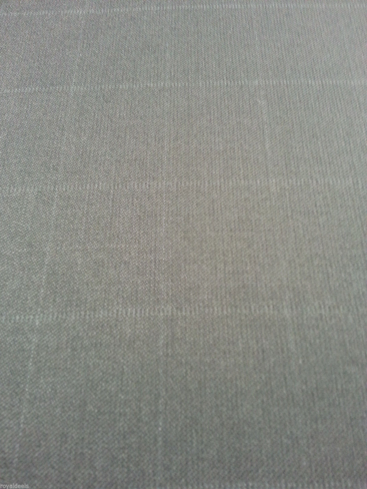 Super 130'S Italian Wool Checked Fine Suiting fabric  4.5 Yard- MSRP $750