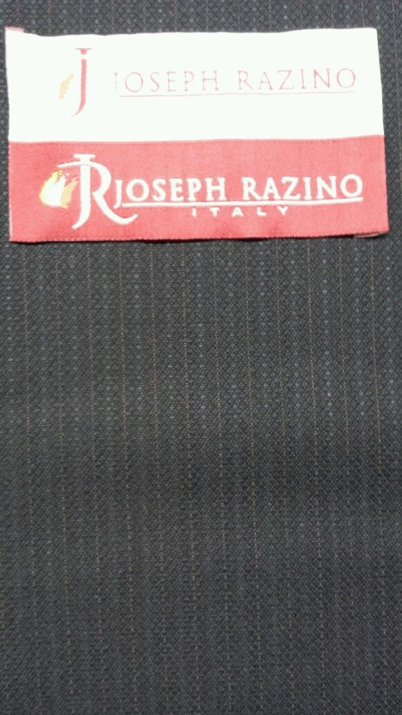 Super 120'S Italian Wool Blue Fine Suiting Fabric 6.3 Yards MSRP $875
