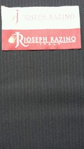 Super 120'S Italian Wool Blue Fine Suiting Fabric 6.3 Yards MSRP $875 - $73.76