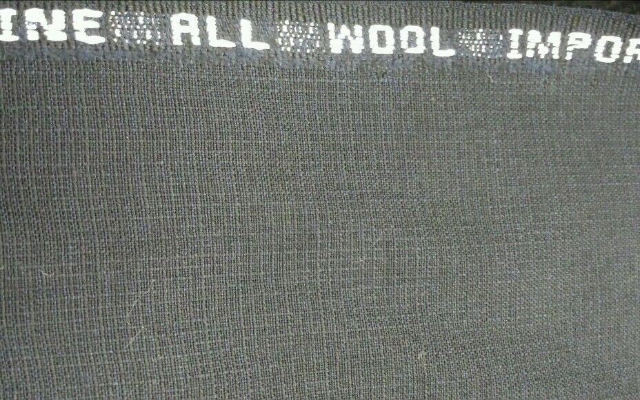 Superfine120'S Italian Lightweight Wool Navy PKAY 9+ Yards MSRP $1395 Limited E