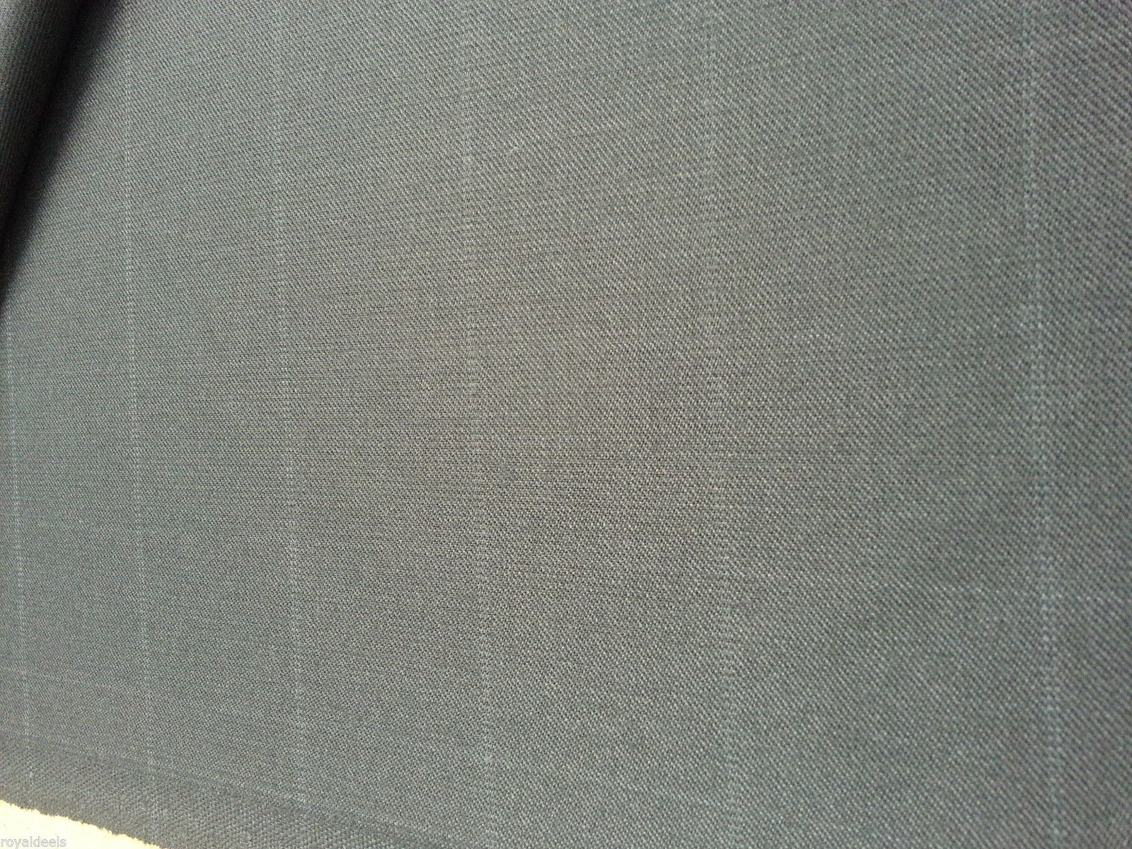 Super 130'S Italian Wool Checked Fine Suiting fabric  4.2 Yard- MSRP $745