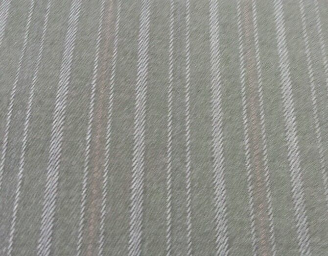 Super Italian Wool Black with Blue Stripes Suiting fabric 4.2 Yards MSRP$695