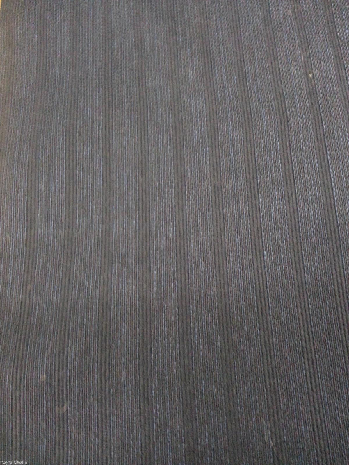 Wool Suit / Skirt  Fabric Striped Navy 120'S ENGLISH FINE WOOL 10 Yard-MSR $1200