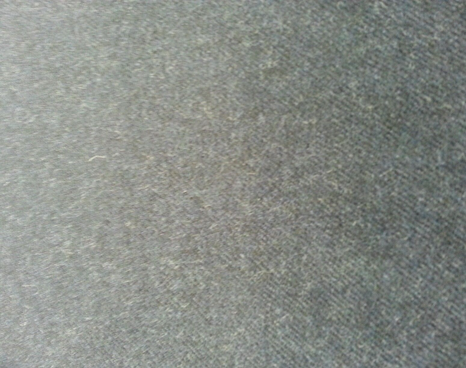 Super 120'S Wool full Weight Blue grey fine classic Suiting Fabric 4 Yards
