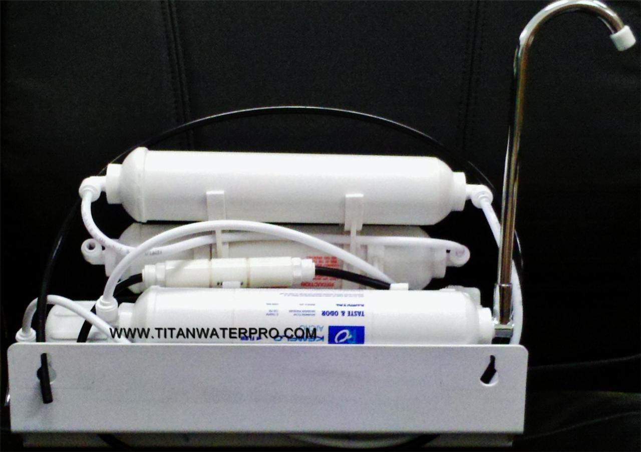 Countertop Reverse Osmosis Systems Water Filter 150GPD - 4 STAGE - Portable RO