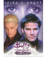 Buffy The Vampire Slayer Men of Sunnydale Spike & Angel MOS P-i Promo Card - $2.50