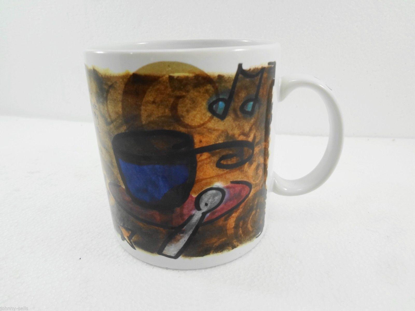 Starbucks Coffee Break Essentials Coffee Tea Mug Cup 1998 Oversize 16 oz