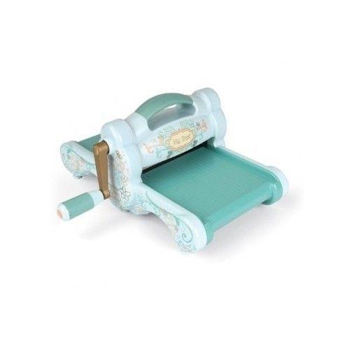 Sizzix Cutting Embossing Scrapbooking Paper Die Cut Blue Teal Design Machine Cra