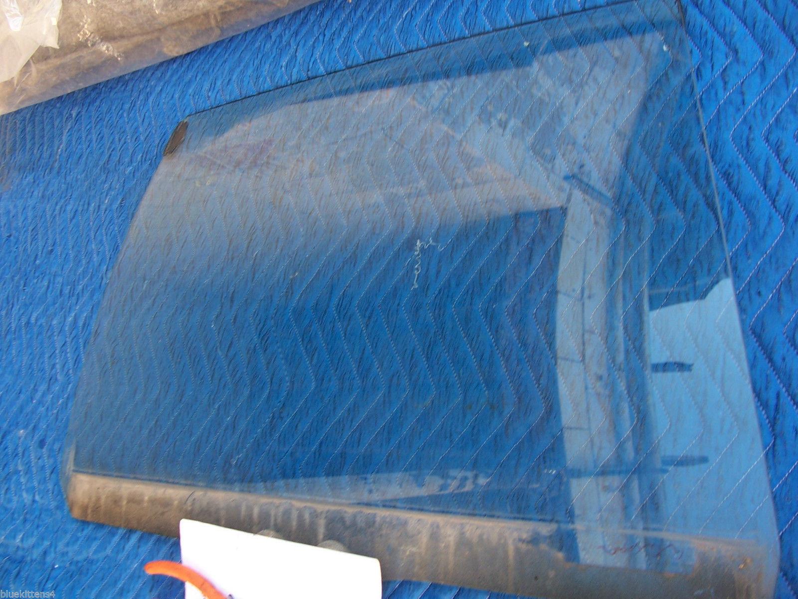 1985 BROUGHAM LEFT REAR SIDE WINDOW GLASS OEM USED ORIGINAL CADILLAC GM PART