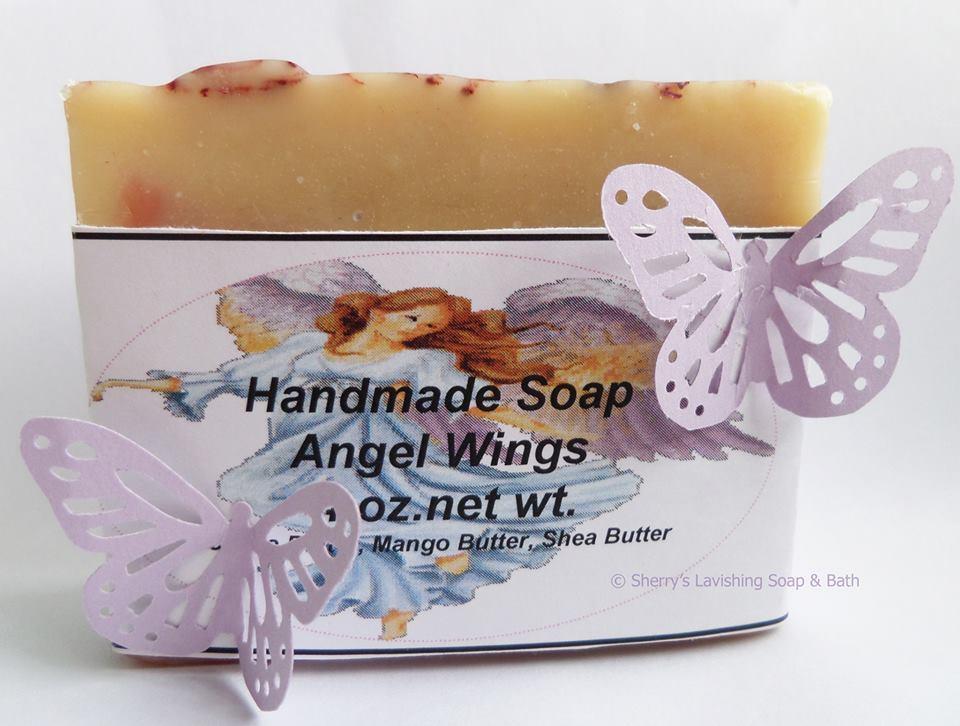 Angel wings butterfly 3